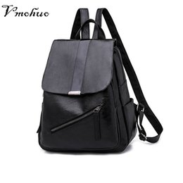 $enCountryForm.capitalKeyWord NZ - VMOHUO Fashion Backpacks For Teenager Girls Korean Style Black Women Backpacks Female Travel Bags Casual Women Shoulder Bags
