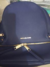 Mochila feMinina bag online shopping - 2019 clour black Genuine Leather Women Backpack Zipper School Bags for Teenagers Girls Female Shoulder Bag Mochila Feminina