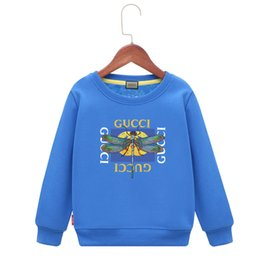Branded Baby Kids Clothes Australia - Kids Brand Hoodies Children T-shirts Sweater Suit Plus Cashmere Thickening Package Mail Winter Clothes Baby Clothing