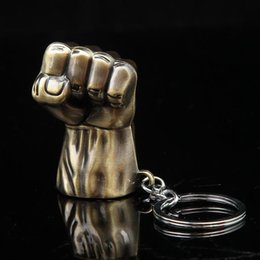$enCountryForm.capitalKeyWord Australia - 19 styles Marvel jewelry SuperHeroe The Avengers Logo Style Metal Pendant Keychains Letter A Keyring porte clef chaveiro key holder jssl