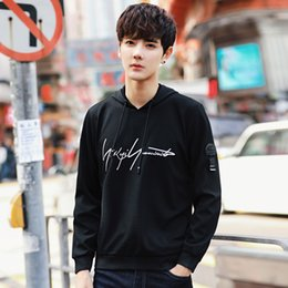 $enCountryForm.capitalKeyWord Australia - Slim Casual Funny Sweatshirt Hoodie for Men Hooded Autumn Mens Traksuit Striped Cotton Pullover Streetwear