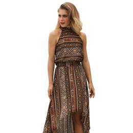 $enCountryForm.capitalKeyWord UK - Suit-dress 2019 New Pattern Restore Ancient Ways Skirt Clothes Printing Irregular women mini club Dress fashions maxi dresses plus models