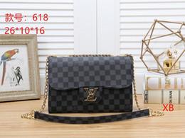 $enCountryForm.capitalKeyWord Canada - 2019 Luxury Quality Brand Design Lady Plaid Messenger Bag Genuine Patent Leather 5 Plaid Handbag Lambskin With Charms Miss Chain Bag25
