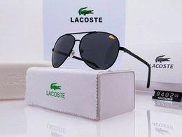 2019 Lüks Tasarımcı Polarizerd G Güneş Gözlüğü Erkek Cam Ayna için Yeşil Lens ile Vintage Güneş Gözlükleri Gözlük Aksesuarları ... indirimde