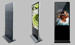Wholesale 42inch 43inch floor standing industrial metal body digital signage Stand alone Lcd advertising network player