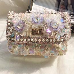 3f1efcb448 Sacchetti di frizione della spalla di lana delle signore di modo del  sacchetto delle borse del fiore delle borse di arco delle donne del  sacchetto elegante ...