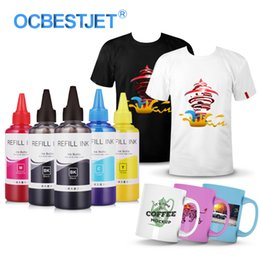 ac3314193 5x100ml Universal Sublimation Ink For Inkjet Printer Heat Transfer Ink Heat Press  Sublimation Used For Mug Cup T-Shirt