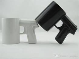 $enCountryForm.capitalKeyWord Australia - Creative Gun Style Handle Ceramic Coffee Water Mug Cup 400ml Funny creative pistol shape ceramic cup ceramic cup c253