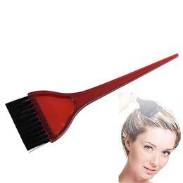 $enCountryForm.capitalKeyWord UK - 1pc New Red Acrylic Tint Brush Hair Dye Brush Salon Professional Hair Color Tool For Barber Salon