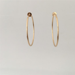 $enCountryForm.capitalKeyWord Australia - CASUAL GOLD COLOR PLATING SIMPLE BASIC CLIP ON HOOP EARRINGS FOR WOMEN GIRL NO HOLE