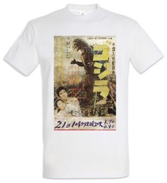50a52b0b1f1 GODZILLA VINTAGE ASIA I T-SHIRT - Japan Goijra Tokyo Nippon King Monster  Kong Men Women Unisex Fashion tshirt Free Shipping
