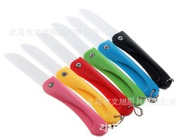 $enCountryForm.capitalKeyWord Australia - Spot Supplies Boxed Kitchen Tool Colourful Fold Environmental Protection Ceramics Knife Fruits The Knife Cut Skin