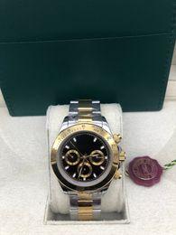 $enCountryForm.capitalKeyWord UK - With Original Box Sapphire Black Dial 116523 automatic Mens Men's Watch Watches no Chronograph