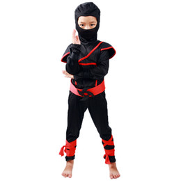 supplies for party decoration Australia - Martial Arts Ninja Costumes For Kids Classic Halloween Costumes Cosplay Costume Fancy Party Decorations Supplies Uniforms
