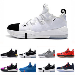 Kobe men basKetball shoes online shopping - Kobe AD EP Mamba Day Sail Multicolor men Basketball Shoes Wolf Grey Orange for AAA quality black white Mens Trainers Sports Sneakers