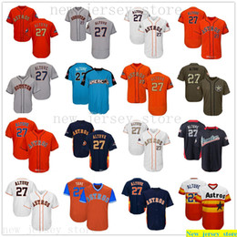 Wholesale star david for sale - Group buy 2019 Men Women Youth kids Baseball Jose Altuve Jerseys White Gray Grey Blue Orange Gold Green Salute to Service Players Weekend All Star