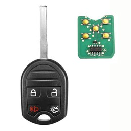 $enCountryForm.capitalKeyWord Australia - 4 Buttons Remote Key Fob with 4D63-6F 80 bit Chip 315MHz For Ford F-150 F-250 F350-1 X Remote Key