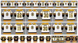 Custom 24 blaCk gold online shopping - Vintage Boston Bruins Jersey DON CHERRY MILT SCHMIDT WAYNE CASHMAN TED GREEN Johnny Bucyk PHIL KESSEL CCM Custom Hockey