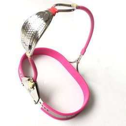 Bondage wear for women online shopping - Newest Female chastity belt bondage locks device fetish wear sex toys for woman chastity panty slave bdsm stainless steel products