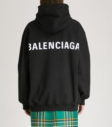 Men korean pullover online shopping - Japanese embroidery hooded plus velvet sweater men women with the same small sweater Korean brand sweater autumn and winter men