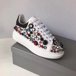 2019 moda partido sapatilhas do desenhista de luxo designer mulheres sapatos meninas de diamante mulher casamento sapatos de luxo casual branco venda por atacado