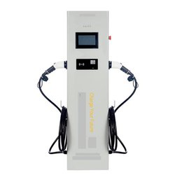 Car Charge Double UK - Electric vehicle charging pile 21KW double gun New energy charging station equipment exchange universal electric car charging pile AC 380V