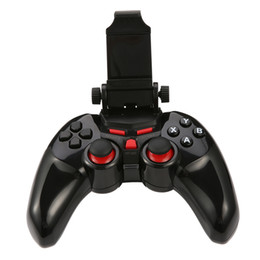$enCountryForm.capitalKeyWord Australia - TI-465 Wireless Android Bluetooth Gamepad DOBE Game Controller Joystick For Android iOS PC with Cell Phone Holder Gamepads