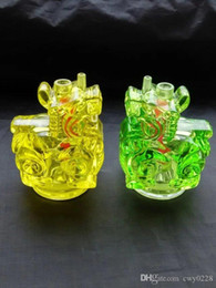 $enCountryForm.capitalKeyWord Australia - New cartoon pattern hookah pot   , Wholesale Glass Bongs Accessories, Glass Water Pipe Smoking, Free Shipping