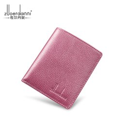 $enCountryForm.capitalKeyWord Canada - Top Quality Men Wallets fashion hot sale Man letter real leather mini card holder for women with box 303abc