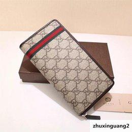 $enCountryForm.capitalKeyWord Australia - Top Quality Luxury Celebrity Design Letter Ribbon Embossing Zipper Wallet Long Purse Canvas Leather 291105 Clutch