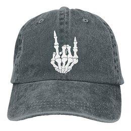 $enCountryForm.capitalKeyWord UK - 2019 New Cheap Baseball Caps Print Hat High Mens Cotton Washed Twill Baseball Cap Rock and Roll Skull Hand Hat