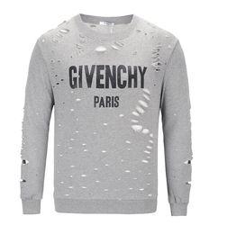 Paris brand hat online shopping - 19SS Brand designer GY Hoodies Autumn Street wear Sweatshirts Fashion Men High Quality Europe Giv Paris Broken Hole Cotton Pullover Hooded