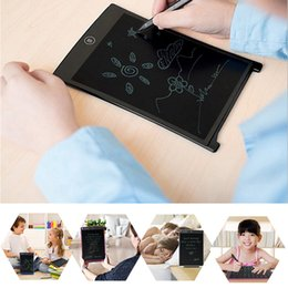 Discount drawing pad for tablet - 8.5 12 Inch LCD Handwriting Board With Pen Writing Pad Drawing Tablet Notepad For Home Office FKU66