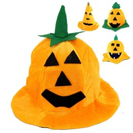 $enCountryForm.capitalKeyWord UK - Soft Lightweight Lovely Adorable Halloween Pumpkin Hat Party Hat Dress Up Hat for Stage Performance Party Cosplay