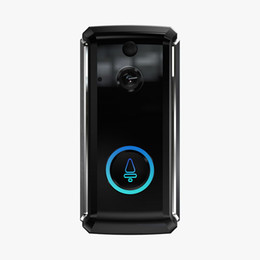 vision smart UK - M101 Smart Home Video Doorbell 1280P720P HD for Wifi Connection Real-time Video Camera Two-Way Audio Lens Wide Angle Night Vision PIR Motion