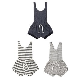 $enCountryForm.capitalKeyWord UK - Newborn Kids Baby Girl Sleeveless Striped Backless Suspender Romper Bodysuit