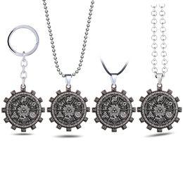 $enCountryForm.capitalKeyWord Australia - Game The Legend of Zelda Keychain Gear Totems Pendant Keyring Car Key Chains Holder Chaveiro Game Jewelry Men
