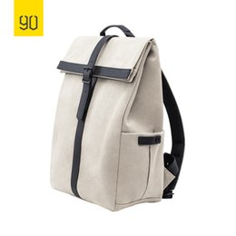 Styles Backpacks Australia - 2019 New Xiaomi 90fun Grinder Oxford Casual Backpack 15.6 Inch Laptop Bag British Style Daypack For Men Women School Boys Girls Y19061204