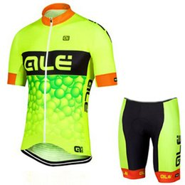 Discount ale cycling set - 2019 Ale team Cycling Jersey Set Men Bike Clothing Short Sleeve shirt Shorts Suit High Quality summer bicycle sports uni