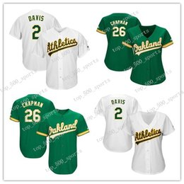 Discount custom baseball jerseys women - Custom Oakland Baseball Jerseys Women Youth kids knit Jersey Athletics players Khris Davis Matt Chapman Matt Olson Josh
