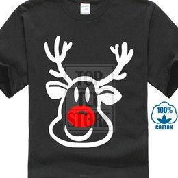 $enCountryForm.capitalKeyWord Australia - Quality Printing Rudolph The Red Nosed Reindeer T Shirt - Christmas - All Design Men's T Shirts 100% Cotton Short Sleeve Tee