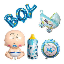 1st balloons online shopping - Baby Shower st Birthday Foil Balloon Boy Girl Hat Brithday Party Decorantions Balloon Kids Christening Diy Decor Festive Party Supplies