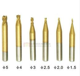 $enCountryForm.capitalKeyWord UK - Best Quality 6pcs lot DEFU end milling cutter 1.5MM2MM2.5MM3MM4MM5MM DEFU key machine drill key cutting machine milling cutter