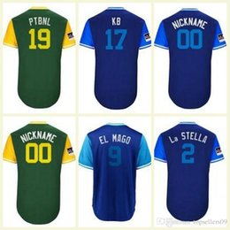 20cde40d39a 2018 Chicago Javier Baez Anthony Rizzo Kyle Schwarber Carl Edwards Jr KB  Cotton Squeaky Oakland Baseball Players Weekend Custom Jersey