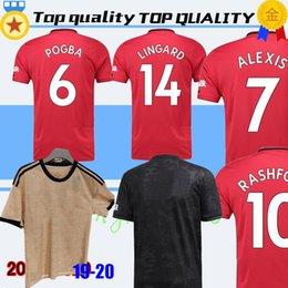 cfba3b9dc Manchester 2019 2020 LUKAKU MARTIAL POGBA Pink united Soccer Jersey  RASHFORD jerseys Man kit Football Shirt 19 20 Utd Tops equipment man utd  kits on sale