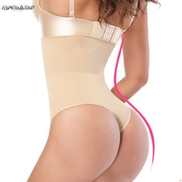 control dress Australia - Butt Women Lifter Sexy Firm Slimming Tummy Control Panties Wedding Dress G-String Body Shaper High Waist Trainer Thong Knicker
