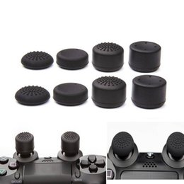 China 8pcs Lot Enhanced Silicone Analog Controller Thumb Stick Grip Cap Skin Cover for Sony PlayStation 4 PS4 Controller PS4 Slim PRO suppliers