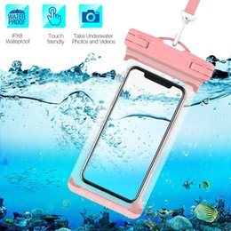 $enCountryForm.capitalKeyWord UK - WPC0434 2019 Newest IPX8 30m certificated swimming waterproof dry bag cell phone pouch for mobile phone 6.0 Inch cheap price