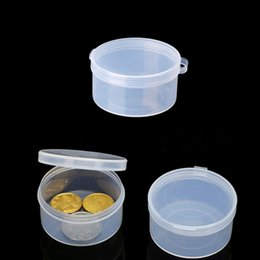 $enCountryForm.capitalKeyWord Australia - Plastic Round Clear Plastic Containers Jewelry Beads Storage Ring Box earrings Case necklace Organizer Woman Make-up Table