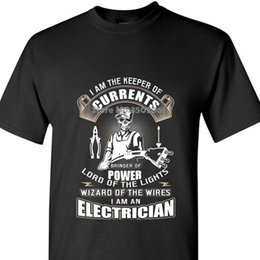 $enCountryForm.capitalKeyWord Australia - Male Best Selling T Shirt I Am The Keeper Of Currents Electrician Funny T Shirt coat clothes tops